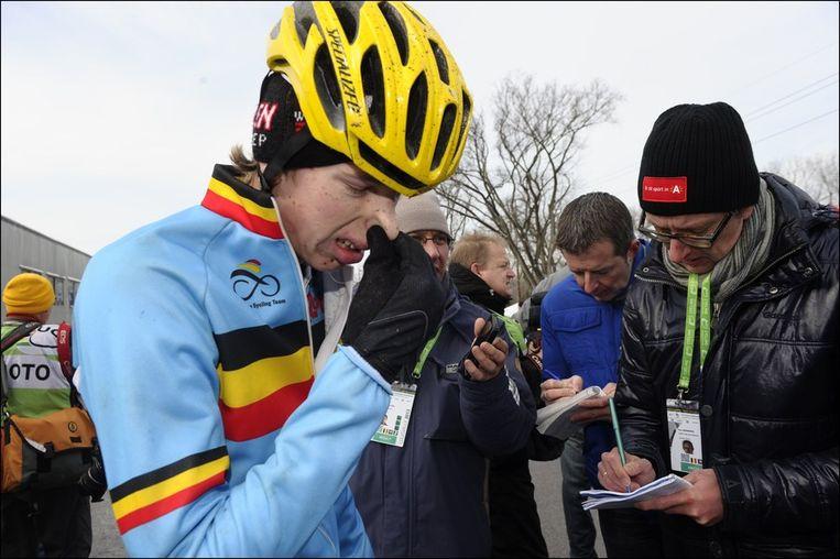 Yannick Peeters was achteraf bijzonder ontgoocheld Beeld PHOTO_NEWS