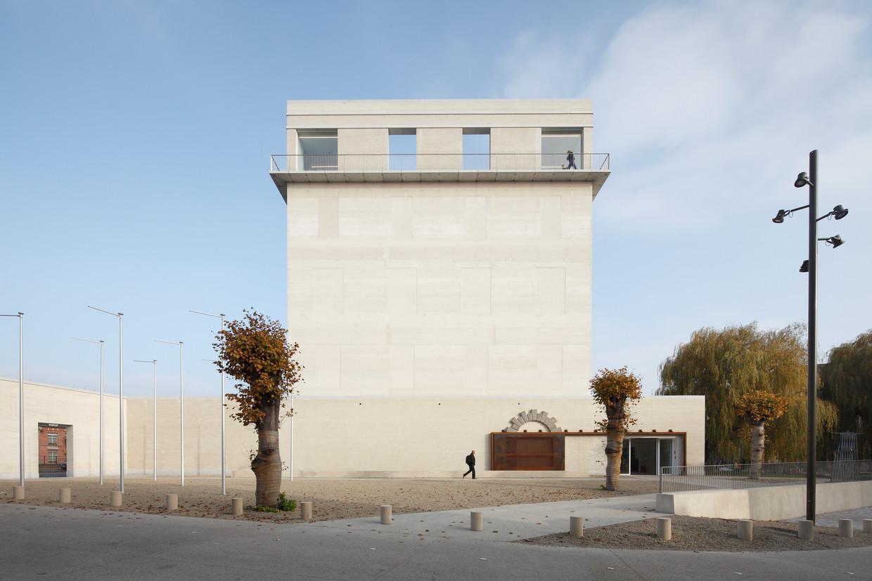 Het Museum Kazerne Dossin in Mechelen.  Beeld Stijn Bollaert