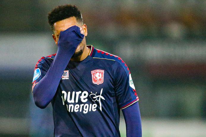 Al acht duels zonder doelpunt: FC Twente-spits Danilo.