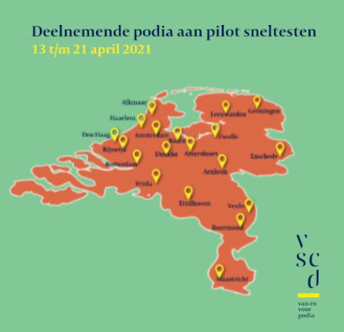 De kaart van Nederland, nu mét Zeeland,