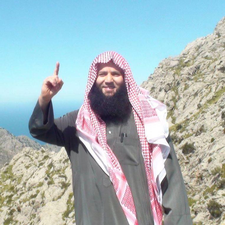 Tarik Ibn Ali ofwel Tarik Chadlioui, destijds inspirator van Shariah4Belgium.