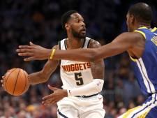 Warriors meedogenloos in topper tegen Nuggets