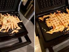 Goor of geniaal? 'Frietwafel met kaas' van Gentenaar Koen Hostyn trending op Reddit