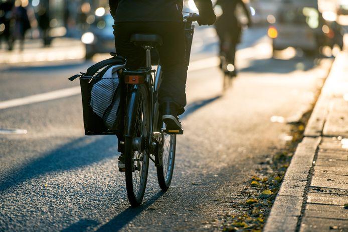 Beeld ter illustratie, fietser