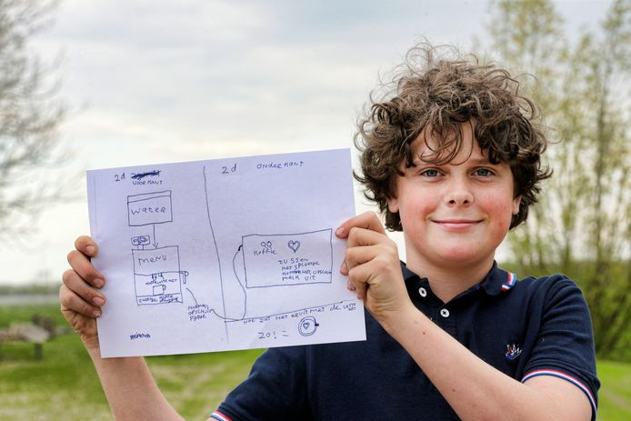 De 11-jarige Hidde van Gend uit Kockengen.