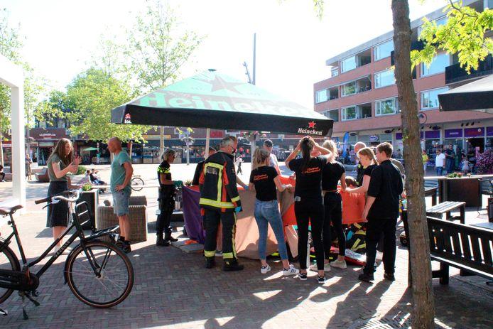 Een traumateam moest er maandag in het centrum van Bodegraven aan te pas komen.