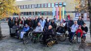 """Rolstoelwandeling door stadscentrum: """"Als rolstoelgebruiker een avondje doorzakken op de Grote Markt? Alleen met de blaas van een olifant"""""""