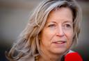 Demissionair minister van Binnenlandse Zaken Kajsa Ollongren.