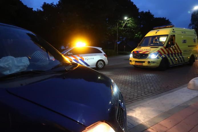 Ongeluk op Korte Brugstraat in Etten-Leur