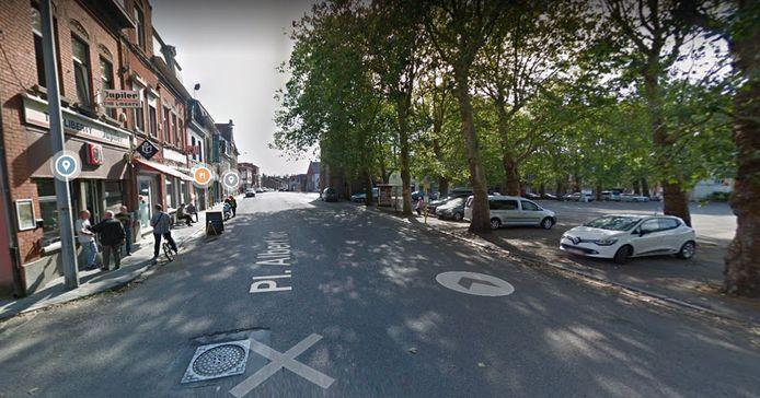 Place Albert 1er à Montignies-sur-Sambre (Charleroi)