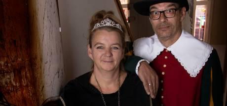 Arianne Dijkema uit Valkenswaard is de eerste koning, dankzij schot nummer 97