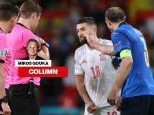 Penalty's in de EK-finale? Houd afstand van Chiellini! Voor je het weet bungel je boven de grond