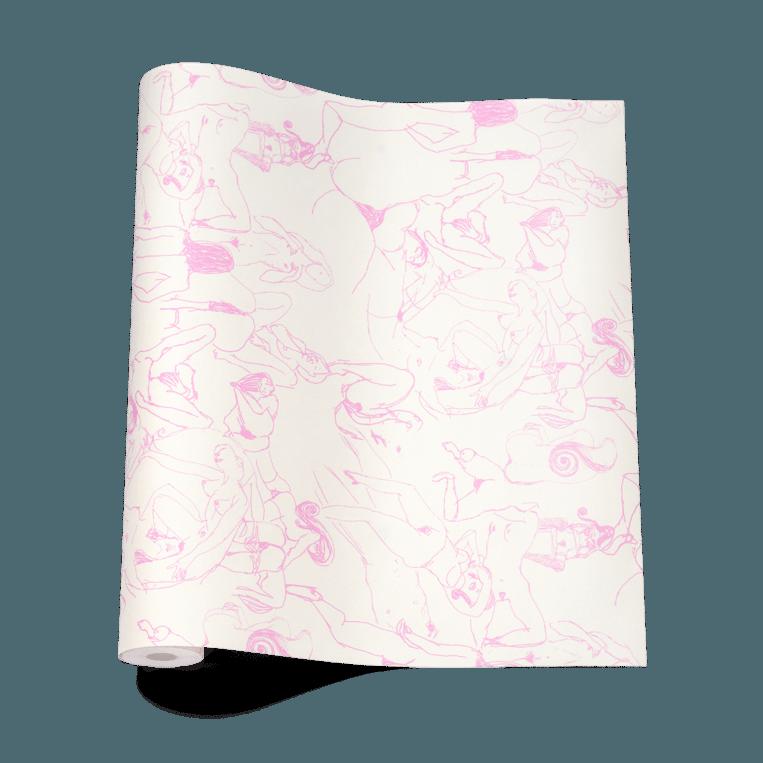 Erotisch behangpapier Beeld Nick Cave