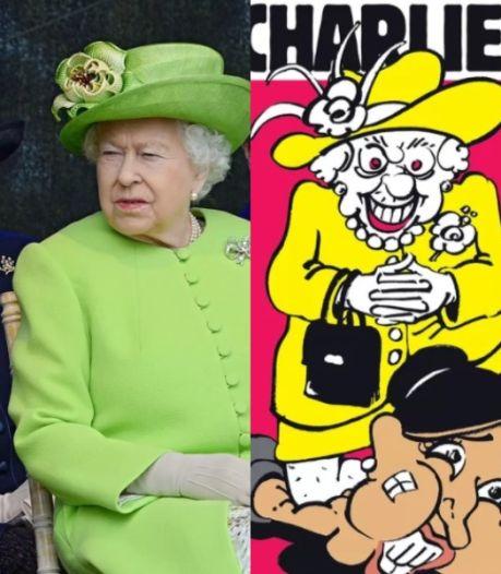 Meghan Markle étouffée par la reine Elizabeth II: la Une de Charlie Hebdo qui fait scandale au Royaume-Uni
