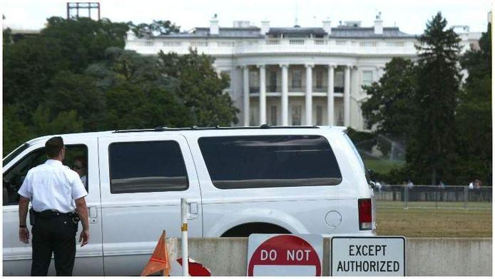 Witte Huis in lockdown