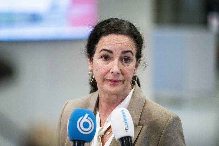 Burgemeester Femke Halsema van Amsterdam. Beeld ANP