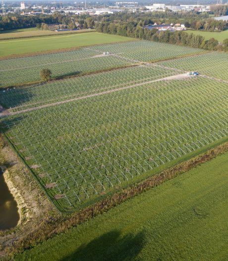 Nu nog geraamte, straks duizenden zonnepanelen in Lierop