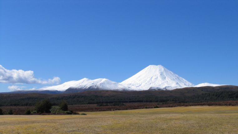 Mount Ngauruhoe op het Nieuw-Zeelandse Noordereiland, onderdeel van het vulkanisch complex van Tongariro. Beeld Thinkstock