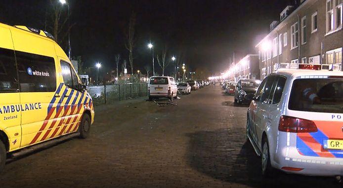 De fietser werd op 1 januari vorig jaar aangereden in de Sottegemstraat.