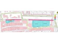 Afsluitingen en verkeershinder voor fietsers en automobilisten in Noordzijde Emmeloord