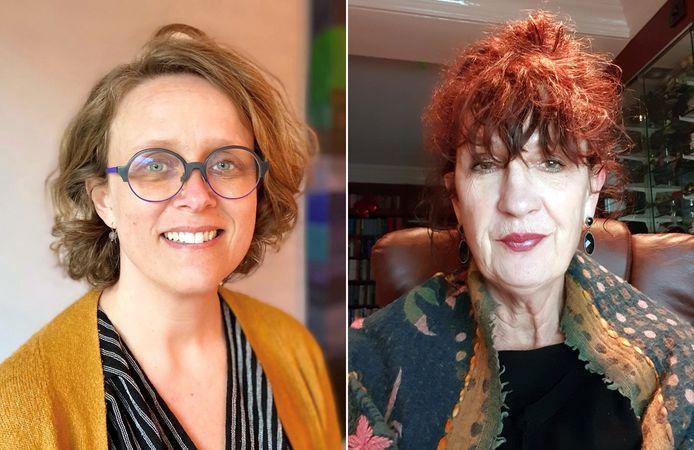 Jeanette Lezwijn (links) en Ingrid Coenen van GGD Noord- en Oost-Gelderland proberen de gezondheid en het welzijn van de inwoners te verbeteren.