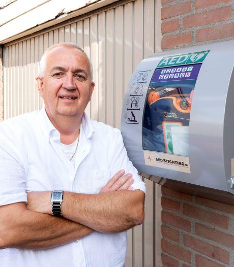 In 2020 werd 26 keer gebruik gemaakt van een AED in de Roosendaalse dorpen