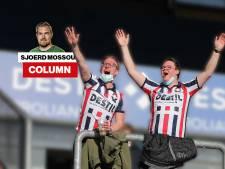 Louis van Gaal mag tevreden zijn, vermoedelijk is er in Nederland zelden beter gejuicht dan bij Willem II-RKC