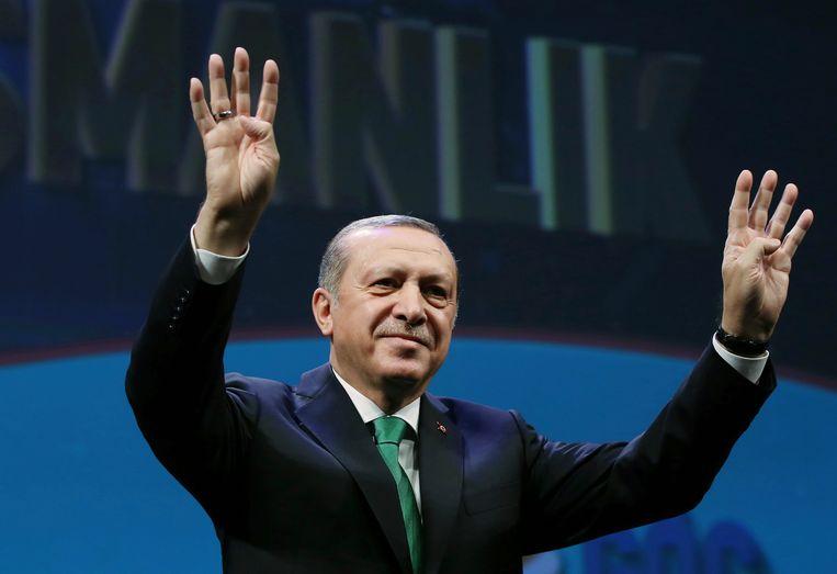 Duitsland is niet opgezet met de uitspraken van Turks president Erdogan. Beeld AP