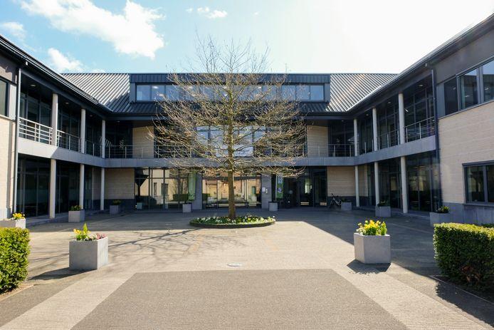 Illustratiebeeld gemeentehuis Steenokkerzeel.