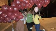 KLJ Kerksken hangt ballon aan elke brievenbus om startdag te promoten: 300 ballonnen in heel het dorp