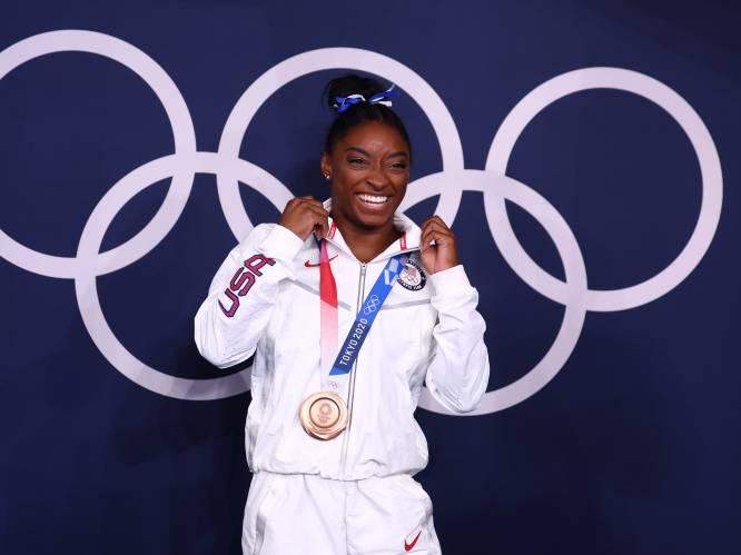 """Hoe Simone Biles op de balk afrekende met haar demonen en brons veroverde: """"Deze medaille smaakt zoeter dan al het goud dat ik al won"""""""