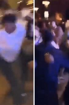 Verontwaardiging over knokpartij tijdens feest op Koningsplein Ridderkerk