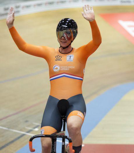 Braspennincx naar halve finales sprint bij EK baanwielrennen
