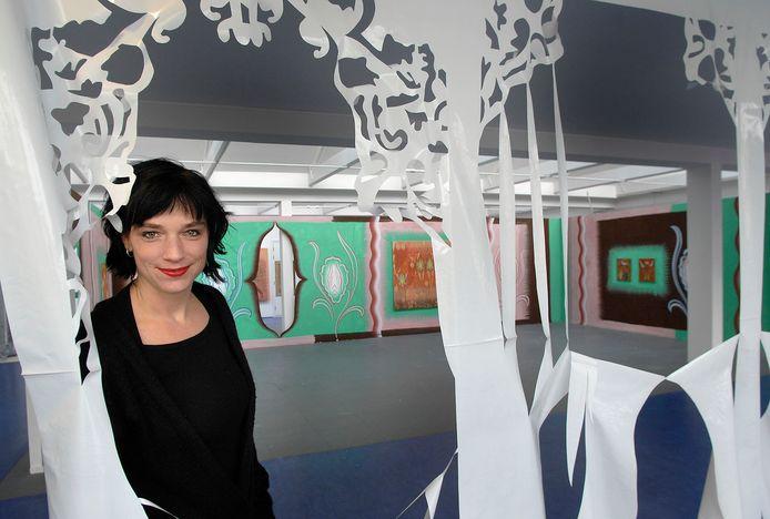 Inge Pollet, artistiek leider van Plaatsmaken.