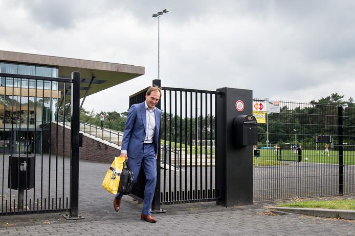 """Algemeen directeur Joost de Wit van Vitesse. ,,De kosten van het succes zitten in dit boekjaar. Maar de winst wordt opgenomen in het volgende financiële jaar."""""""