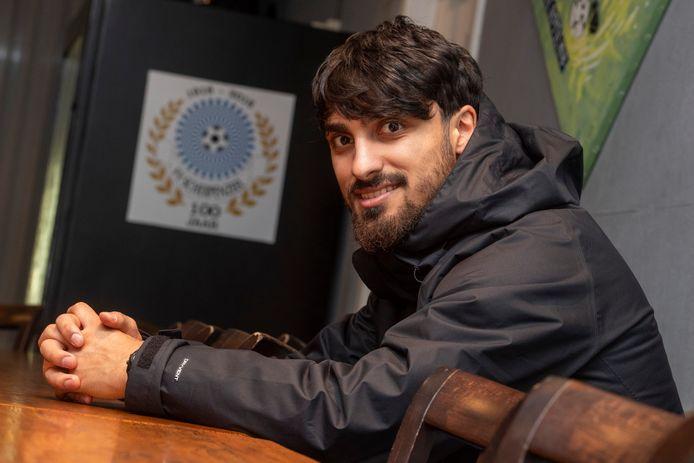 Ali Edan bij zijn huidige club, zaterdaghoofdklasser Scherpenzeel.