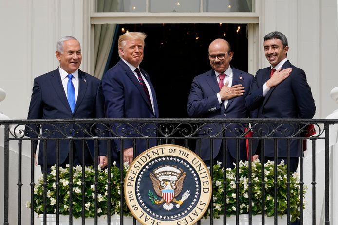 Le Premier ministre israélien Benjamin Netanyahu a signé mardi des accords historiques avec les Emirats arabes unis et Bahreïn.