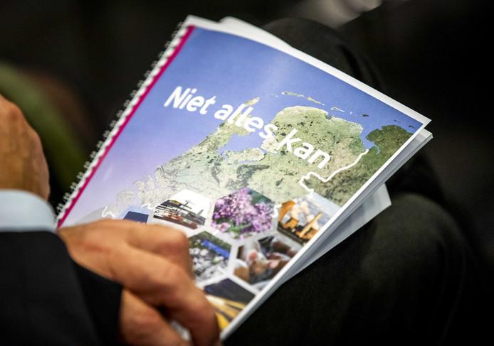 Het rapport van oud-minister Johan Remkes over de stikstofproblematiek in Nederland.