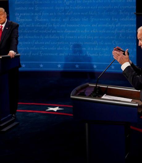 Laatste verkiezingsdebat VS: Biden vreest voor 'donkere winter', Trump denkt dat virus 'verdwijnt'