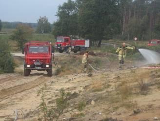 Brandweer houdt grote bosbrandoefening op Keiheuvel en De Most
