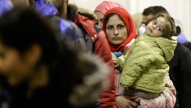 Vluchtelingen krijgen hetzelfde sociaal statuut als Belgen. Ze zijn dus verplicht zich bij een ziekteverzekering aan te sluiten. Beeld ap