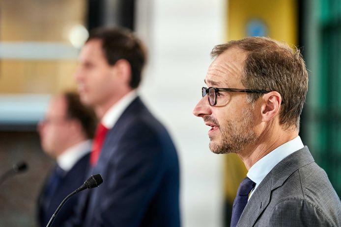 Minister Eric Wiebes (Economische Zaken en Klimaat).