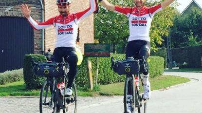 """KOERS KORT: De Gendt en Wellens hebben tocht van 1.000 kilometer afgerond: """"Herinneringen voor het leven"""" - Edward Theuns keert terug naar Trek-Segafredo"""
