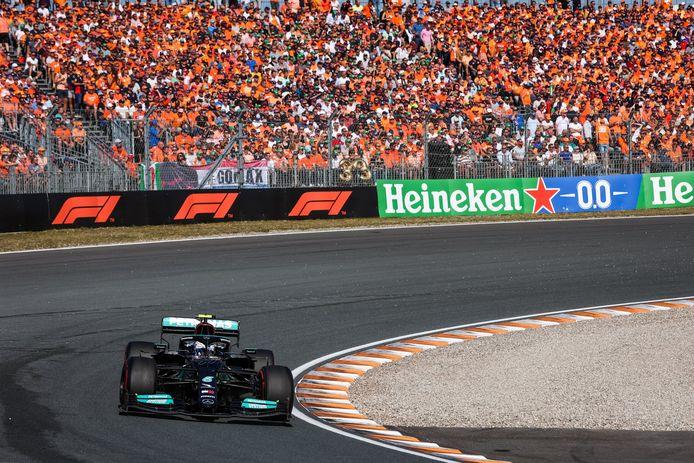 De Mercedes van Valtteri Bottas.