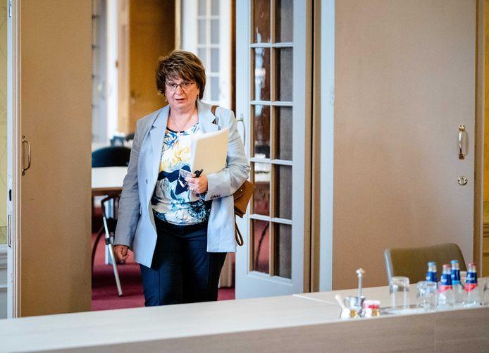 Informateur Hamer op het Binnenhof.