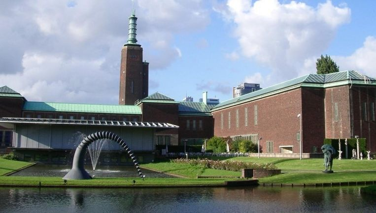 Museum Boijmans in Rotterdam. Beeld