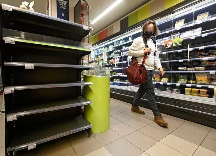 Un magasin Carrefour à Bruxelles.