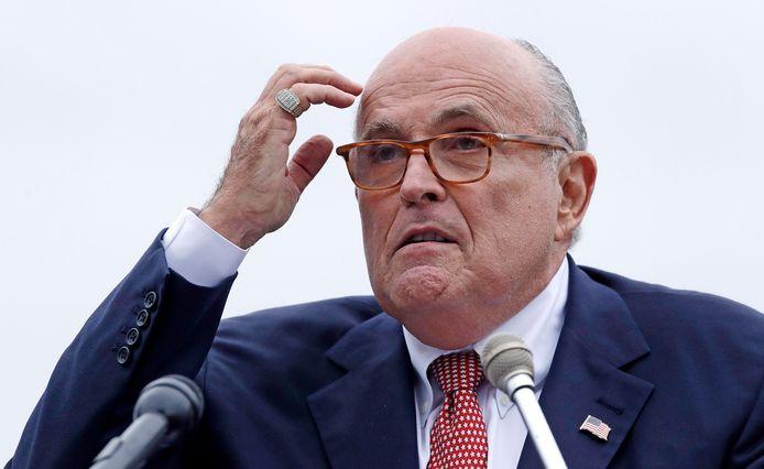 Rudy Giuliani, advocaat van Donald Trump.
