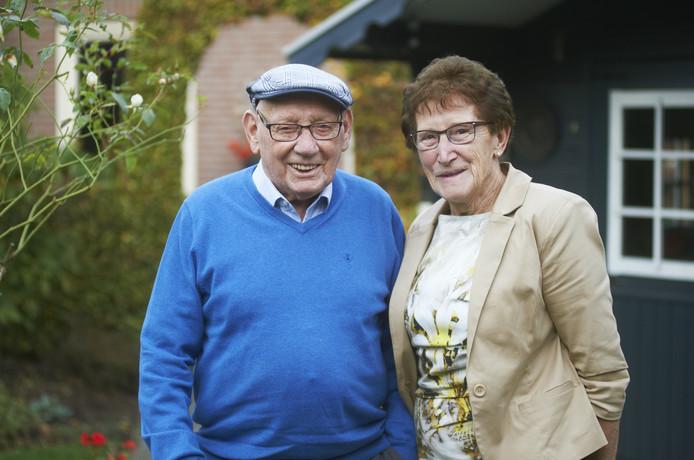 Jos en Marietje van der Pas-van den Berg.