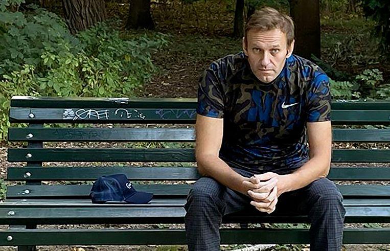 De Russische oppositieleider Aleksej Navalny. Beeld AFP